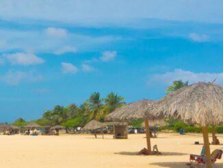 Before the trip to Aruba