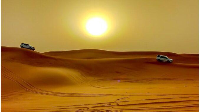 Desert Safari in Abu Dhabi, UAE