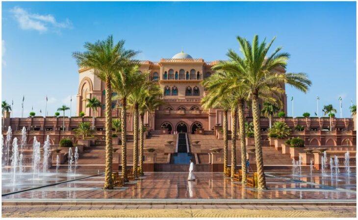 Kempinski Emirates Palace Hotel in Abu Dhabi
