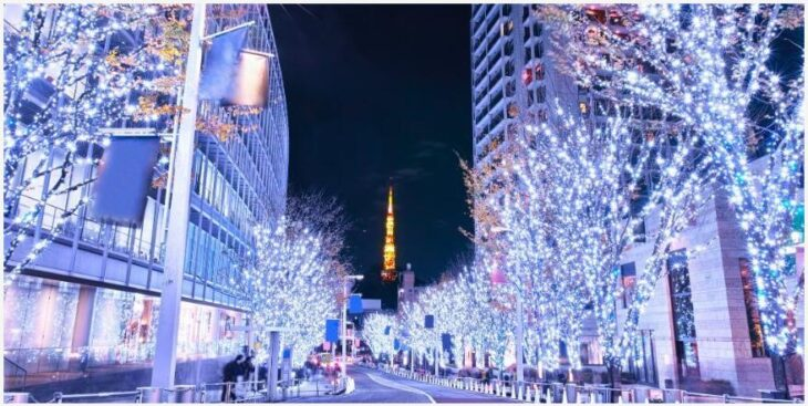 Kentucky Fried Chicken and Christmas Market in Japan