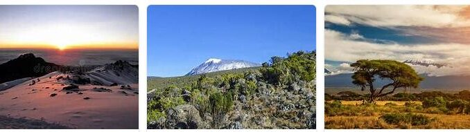 Kilimanjaro - the Highest Mountain Range in Africa Part 4