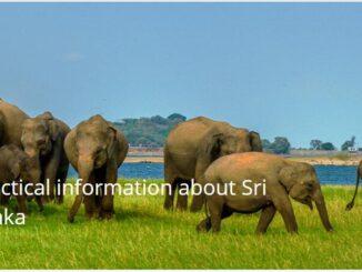 Practical information about Sri Lanka