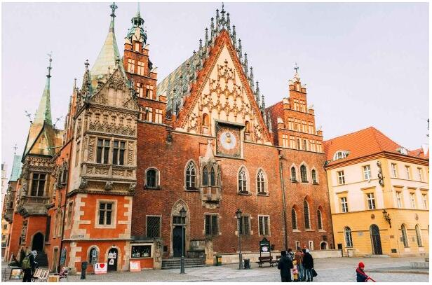The Old Town Hall is the most famous building in Wroclaw